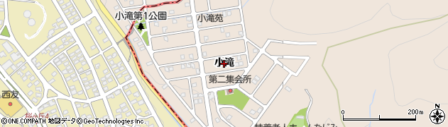 岐阜県多治見市小名田町(小滝)周辺の地図
