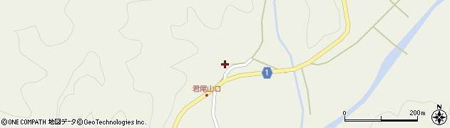 京都府綾部市睦寄町(古井)周辺の地図