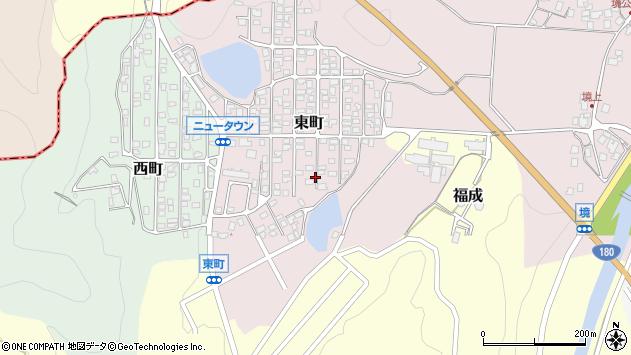 〒683-0301 鳥取県西伯郡南部町東町の地図