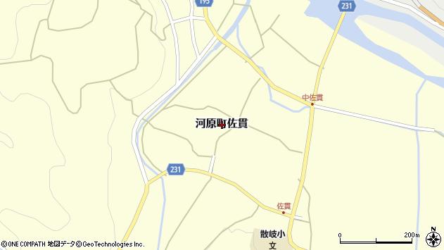 〒680-1243 鳥取県鳥取市河原町佐貫の地図