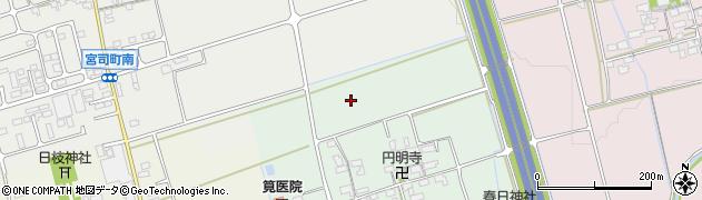滋賀県長浜市大東町周辺の地図