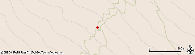 吉田口登山道周辺の地図