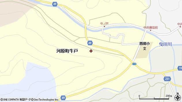 〒680-1225 鳥取県鳥取市河原町牛戸の地図