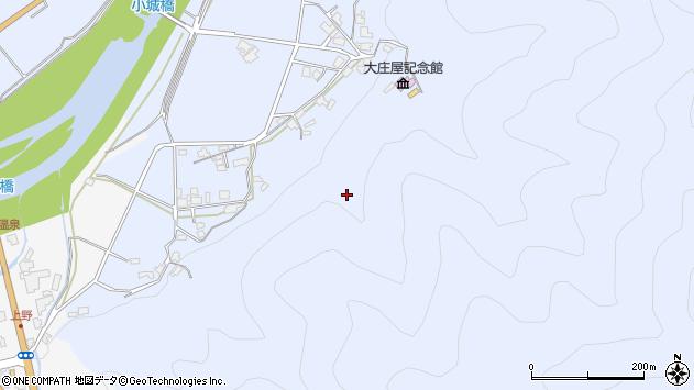 〒667-0114 兵庫県養父市小城の地図
