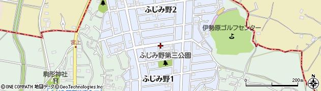 神奈川県平塚市ふじみ野周辺の地図