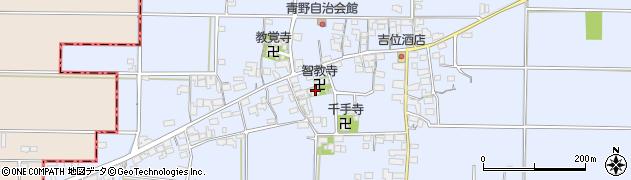 智教寺周辺の地図
