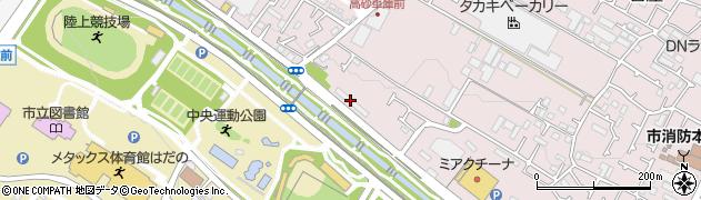 日産車体住宅周辺の地図
