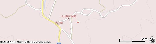 慈恩寺周辺の地図