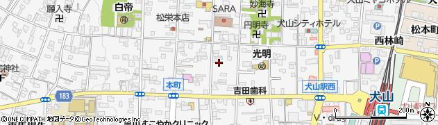 愛知県犬山市犬山(東古券)周辺の地図