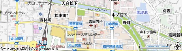 舞華周辺の地図