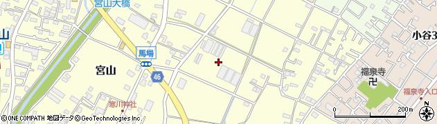 神奈川県寒川町(高座郡)宮山周辺の地図