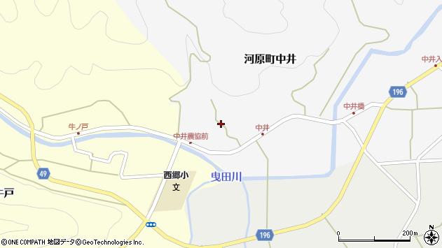 〒680-1224 鳥取県鳥取市河原町中井の地図