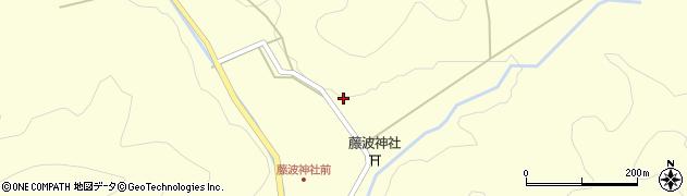 京都府綾部市西方町(矢坊根)周辺の地図