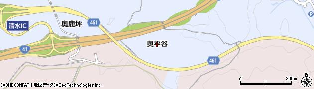愛知県犬山市善師野(奥平谷)周辺の地図