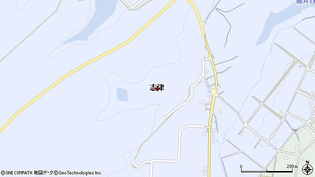 〒682-0613 鳥取県倉吉市志津の地図