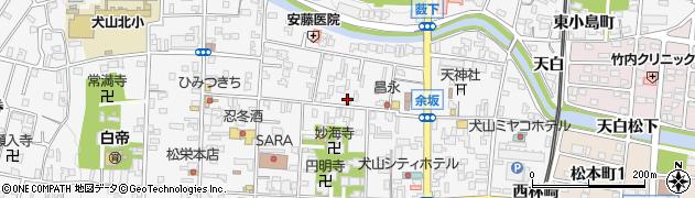 寅屋周辺の地図