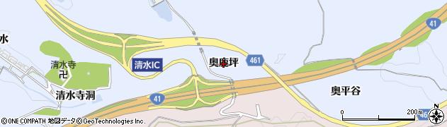 愛知県犬山市善師野(奥鹿坪)周辺の地図