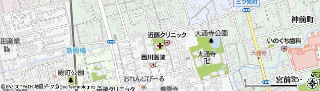 知善院周辺の地図