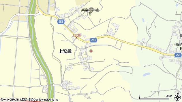 〒683-0255 鳥取県米子市上安曇の地図