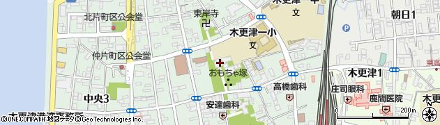 選擇寺周辺の地図