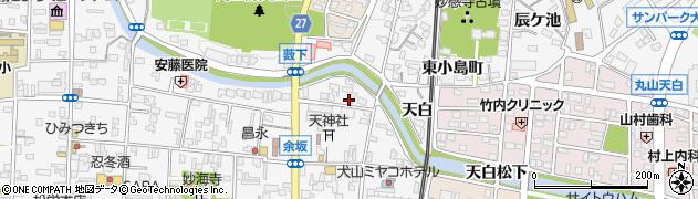 おくがわうどんそば店周辺の地図
