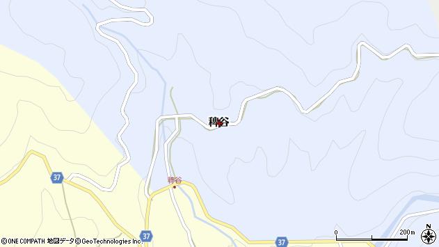 〒680-0613 鳥取県八頭郡八頭町稗谷の地図