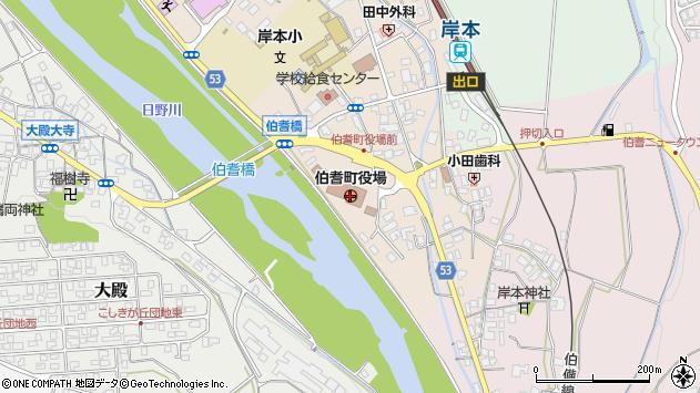 〒689-4100 鳥取県西伯郡伯耆町(以下に掲載がない場合)の地図