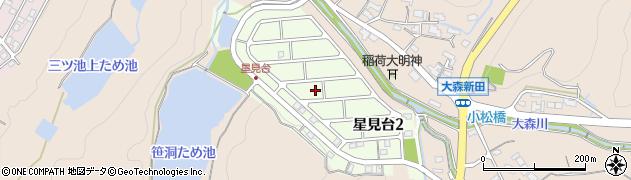 岐阜県可児市星見台周辺の地図