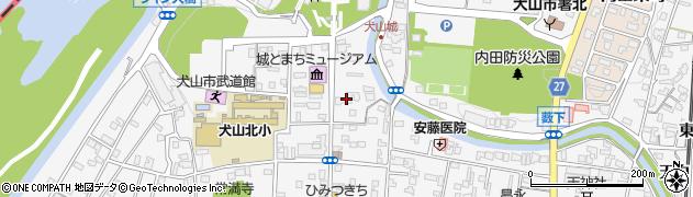 嘉泉周辺の地図