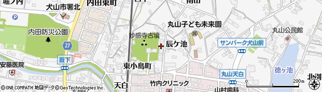 愛知県犬山市犬山(山寺)周辺の地図