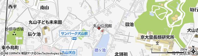 愛知県犬山市犬山(中ノ宮)周辺の地図