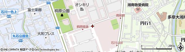 神奈川県藤沢市桐原町周辺の地図