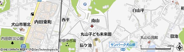 愛知県犬山市犬山(南山)周辺の地図