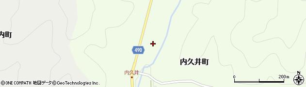 京都府綾部市内久井町(石代)周辺の地図