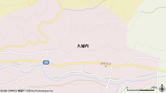 〒682-0623 鳥取県倉吉市大河内の地図