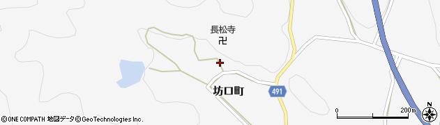 京都府綾部市坊口町(林)周辺の地図