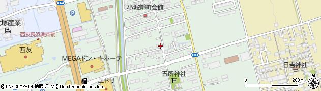 滋賀県長浜市小堀町周辺の地図