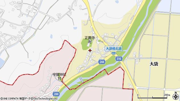 〒683-0256 鳥取県米子市大袋の地図