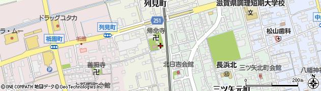都久夫須麻神社周辺の地図