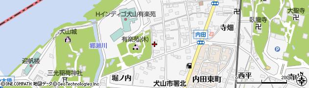 愛知県犬山市犬山(御門先)周辺の地図