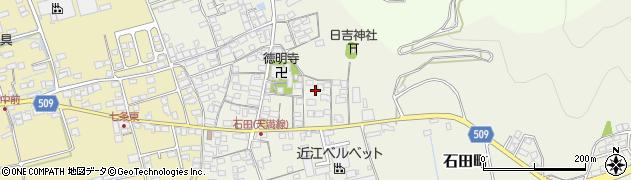 滋賀県長浜市石田町周辺の地図