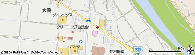 殿河内(町道)周辺の地図