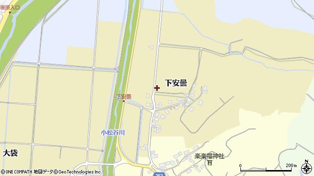 〒683-0253 鳥取県米子市下安曇の地図
