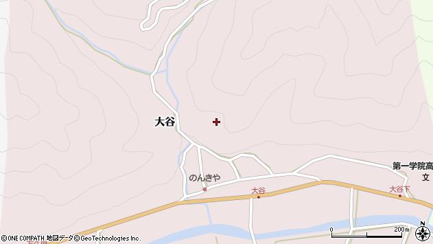 〒667-1102 兵庫県養父市大谷の地図