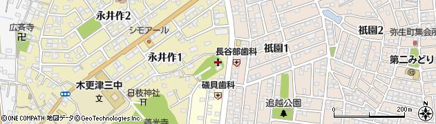 天性院周辺の地図