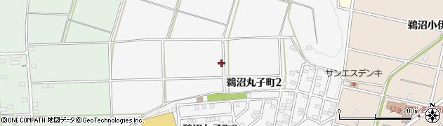 岐阜県各務原市鵜沼丸子町周辺の地図