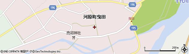鳥取県鳥取市河原町曳田周辺の地図