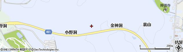 犬山自然公園線周辺の地図
