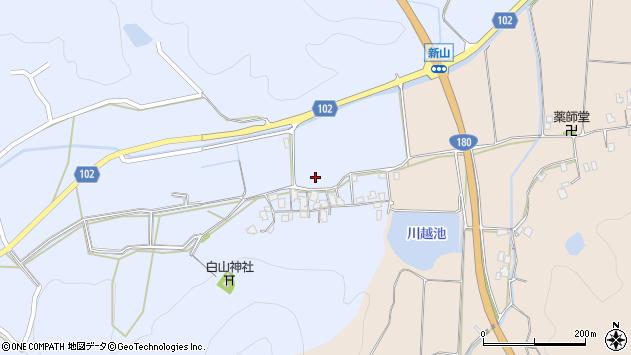 〒683-0026 鳥取県米子市新山の地図