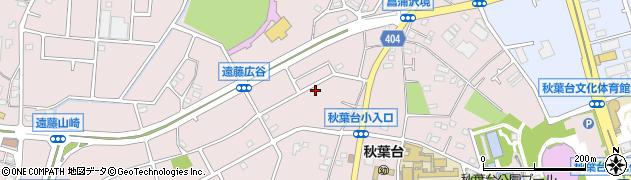 神奈川県藤沢市遠藤周辺の地図